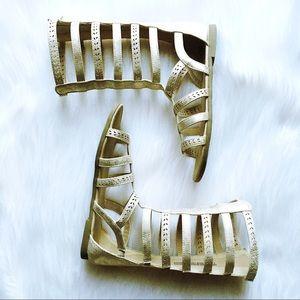 Children's Place Shoes - ✨3/ $30✨ CP | Gladiator Cage Sandals Sz 3 EUC